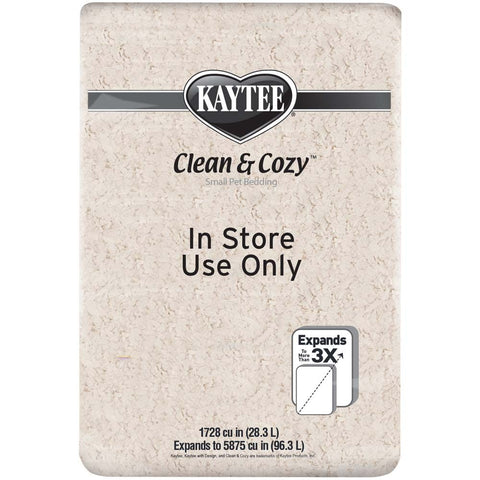 Kaytee Clean and Cozy Bedding Store Use 1728 Cu in