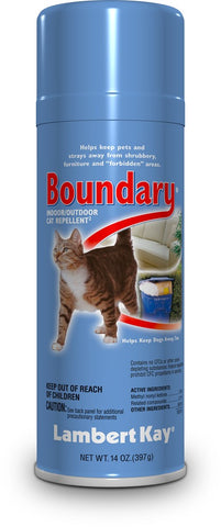 Lambert Kay Boundary Cat Repellent Aerosol Spray 14oz