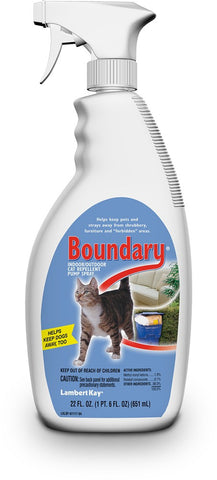 Lambert Kay Boundary Cat Repellent Pump Spray 22oz