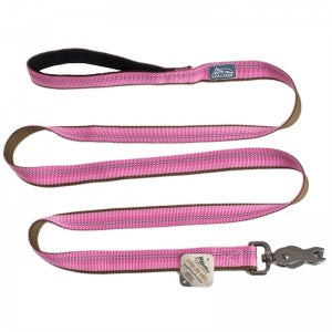"Coastal Pet Products K9 Explorer  Reflective Leash with Scissor Snap, 1""x6' Rosebud Pink"