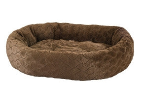"Ethical Pet Diamond Cut Lounger 27"" Chocolate"