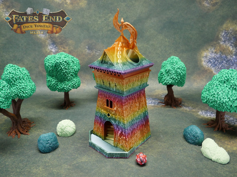 Fate's End Dice Towers