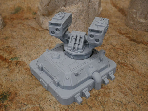 Sci-Fi Military Structures and Fortifications