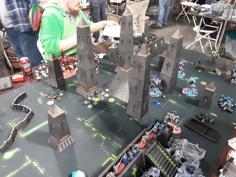 cincycon2020 40k necron table