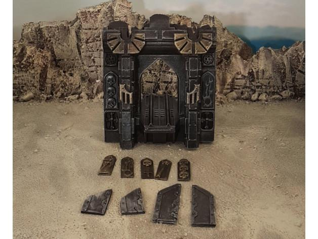 Gothic Spaceship Wreck Accessories