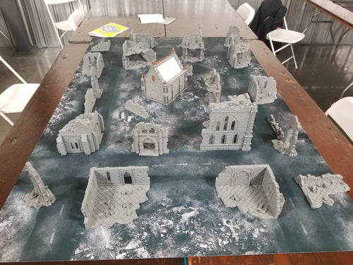 Urban Tabletop Collection v1 Wargaming Terrain Warhammer Terrain