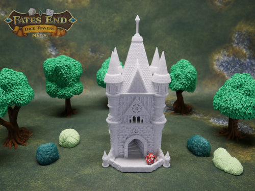 Cleric Dice Tower For Dice Games Like D&D