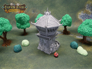 Barbarian Dice Tower | Multiple Colors Available