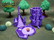 Load image into Gallery viewer, Wizard Dice Tower | Multiple Colors Available