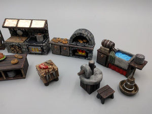 Inn and Tavern Set 2: Kitchen and Food