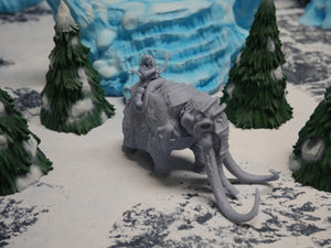 Mammoth: Armored D&D Miniatures