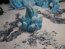 Load image into Gallery viewer, Icy Terrain: Ice and Snow Scatter Ice Shards
