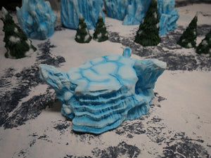 Icy Terrain: Snow and Ice Hill