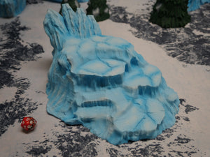 Icy Terrain: Ice Hill