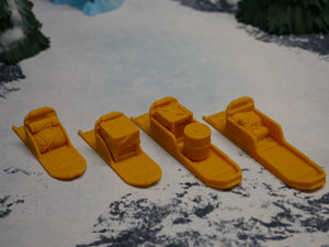 Dog Sleds and Cargo Wargaming Terrain Warhammer Terrain