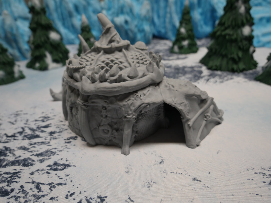Fisherman Ice Tribe Hut