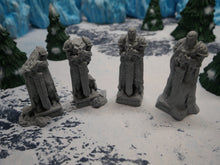 Load image into Gallery viewer, Wintertide Statues Wargaming Terrain Warhammer Terrain