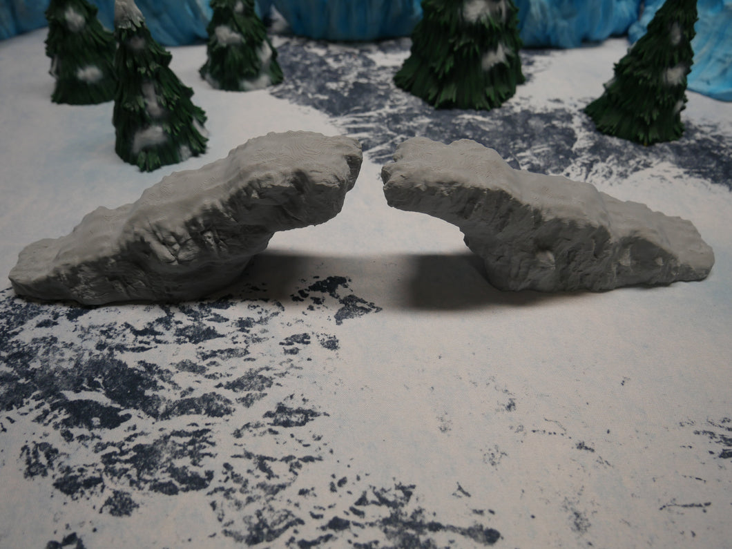 Broken Ice Bridge Wargaming Terrain Warhammer Terrain