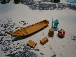 Ice Tribe: Fishing Boat and Gear