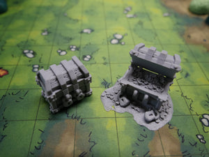 Lost Adventures: Treasure Chests Wargaming Terrain Warhammer Terrain