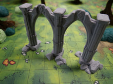 Load image into Gallery viewer, Double Archways Wargaming Terrain Warhammer Terrain