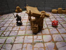 Load image into Gallery viewer, 3d Printed Tabletop Market Stall