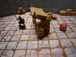 3d Printed Tabletop Market Stall