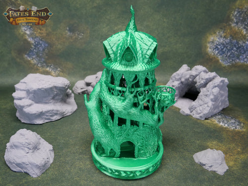 Druid Dice Tower For Dice Games Like D&D