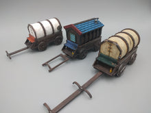 Load image into Gallery viewer, Caravan Wagon Wargaming Terrain Warhammer Terrain
