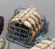 Load image into Gallery viewer, Ribs Jail Cell Wargaming Terrain Warhammer Terrain