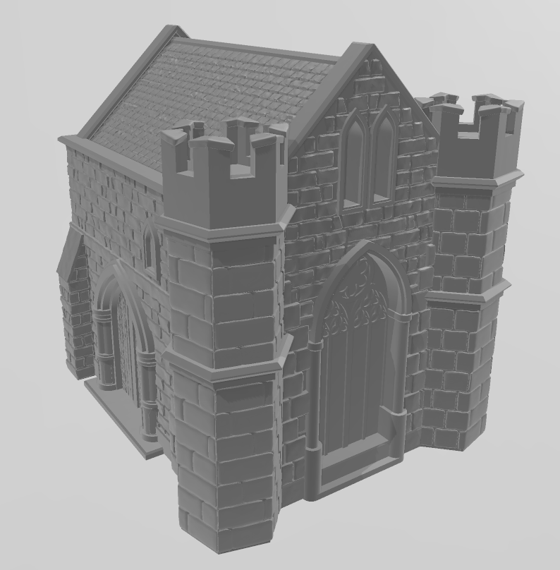 Church 1 Wargaming Terrain Warhammer Terrain