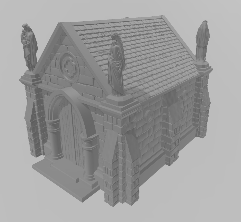 Church 3 Wargaming Terrain Warhammer Terrain