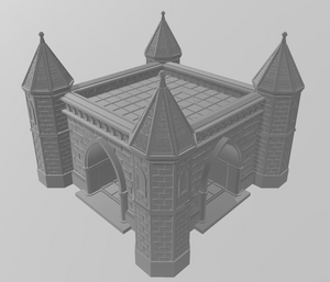 Church 4 Wargaming Terrain Warhammer Terrain