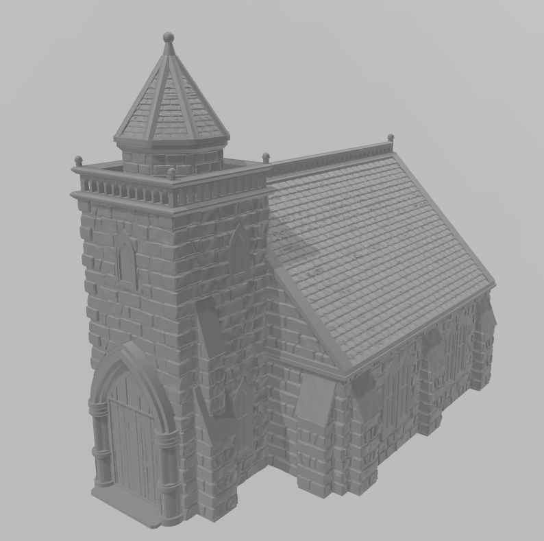 Church 5 Wargaming Terrain Warhammer Terrain