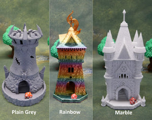 Wizard Dice Tower | Multiple Colors Available