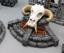 Load image into Gallery viewer, Demon Pedestal Wargaming Terrain Warhammer Terrain