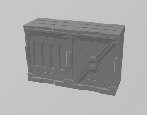 Industrial Walls Set: Double Wall 3 Wargaming Terrain Warhammer Terrain