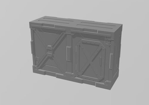 Industrial Walls Set: Double Wall 4 Wargaming Terrain Warhammer Terrain