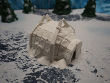 Load image into Gallery viewer, Ice Tribe: Igloo Wargaming Terrain Warhammer Terrain