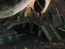 Load image into Gallery viewer, Necrontyr Pathway & Bridge Set: Paths & Stairs