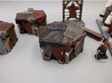 Load image into Gallery viewer, Barbarian Tents Wargaming Terrain Warhammer Terrain