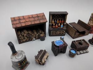 Inn and Tavern Set 1: Common Room and Upstairs