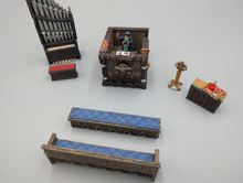 Load image into Gallery viewer, Religious Seating Wargaming Terrain Warhammer Terrain