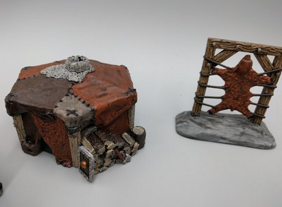 Stretched Hide Wargaming Terrain Warhammer Terrain