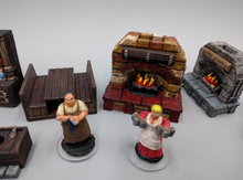Load image into Gallery viewer, Inn and Tavern Set 1: Common Room and Upstairs