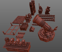 Load image into Gallery viewer, Library Other Furniture Wargaming Terrain Warhammer Terrain