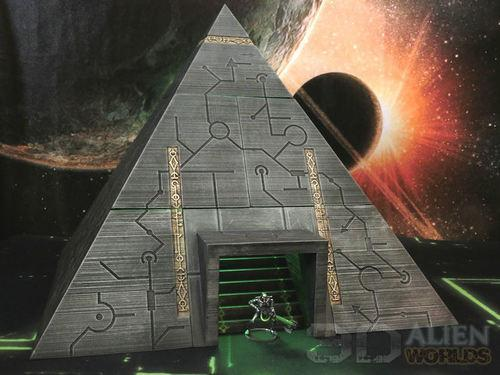 Necrontyr Pyramid: Bottom Level Modules Wargaming Terrain Warhammer Terrain | Necron Terrain