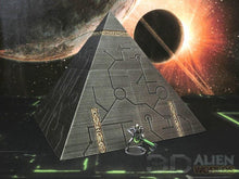 Load image into Gallery viewer, Necrontyr Pyramid: Middle Level Corners Wargaming Terrain Warhammer Terrain