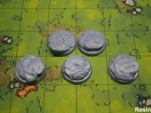 Rock 1 Inch Bases