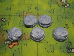 Rock 1 Inch Bases Miniature Bases